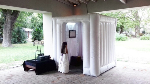 cabina de fotos inflable