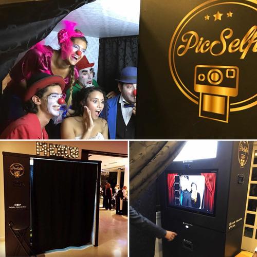 cabina de fotos - picselfie alquiler y venta! photobooth