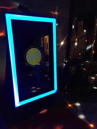 cabina de fotos - stand de glitter - espejo mágico