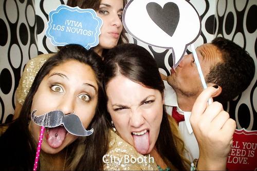 cabina de fotos tótem con impresión termal! citybooth!