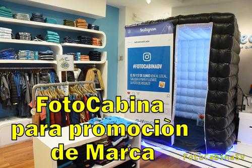cabina de fotos-totem o inflable - alquiler y venta