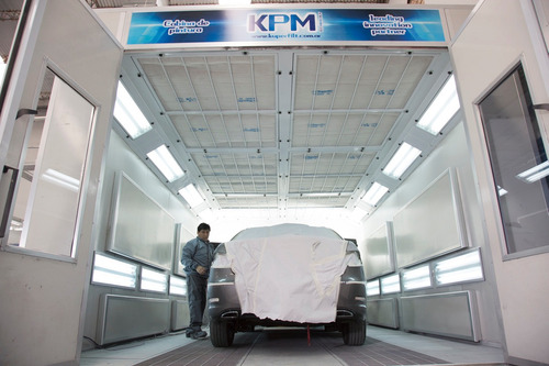 cabina de pintura automotriz kuperfilt kpm wp