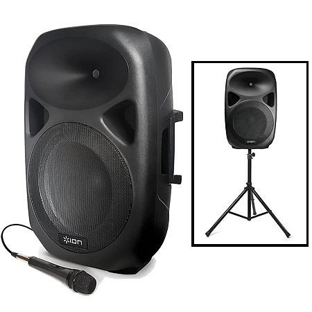 cabina de sonido, amplificador, total pa, altavoz, bluetoo
