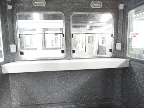 cabina de vigilancia cuadruple ( garitas, baños quimicos)