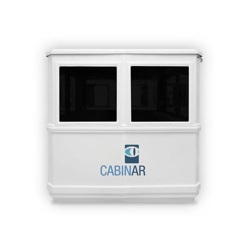 cabina de vigilancia doble ( garitas, baños quimicos )