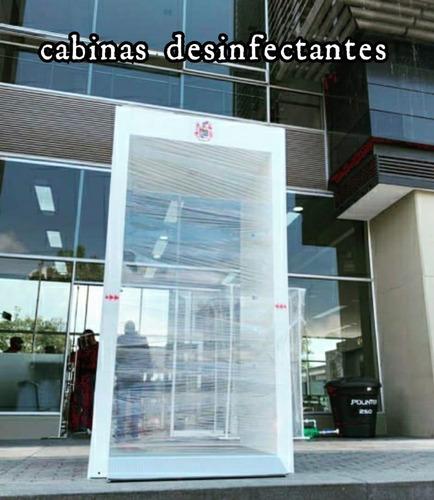 cabina desinfección