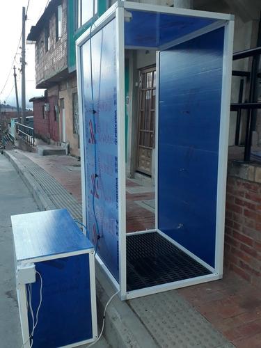 cabina desinfectadora para desinfectar