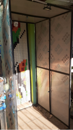 cabina desinfectante