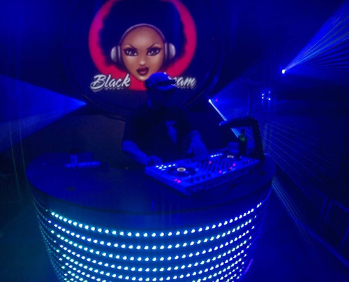 cabina dj led pixel mapping 3d discjockey rental eventos