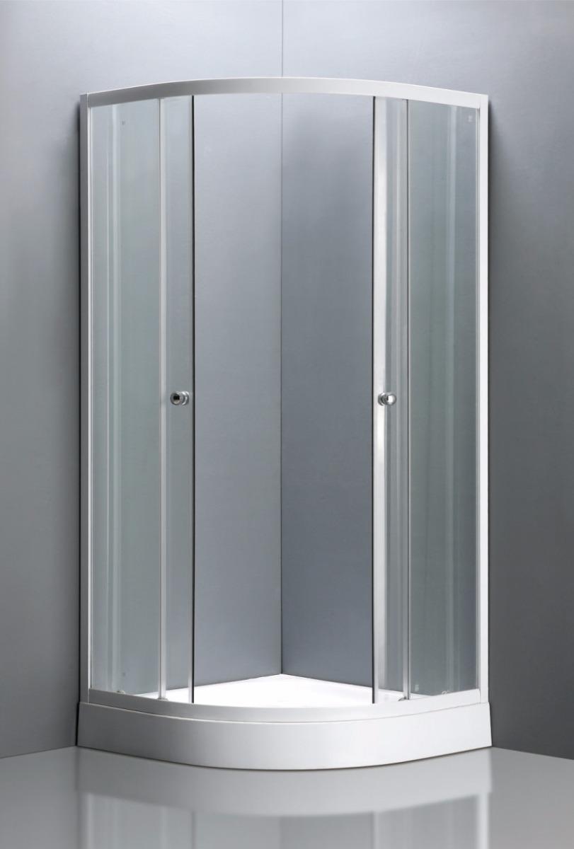 cabina ducha 90x90x198 base acrilico bauen cer micas