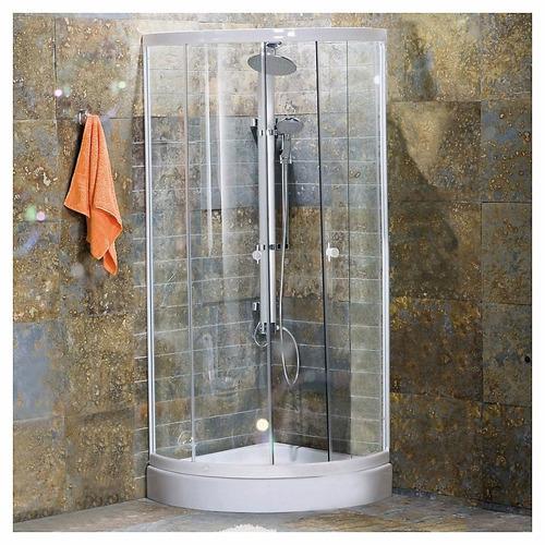 cabina ducha mampara box curva 80x80 vidio ducha escocesa