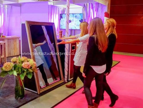 cabina espejo o espejo mágico