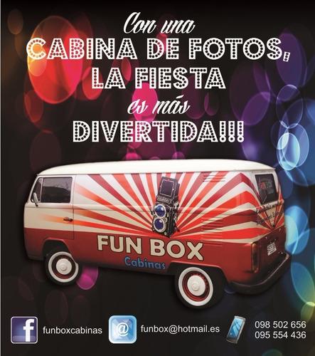 cabina fotográfica / cabina de fotos / souvenir funbox