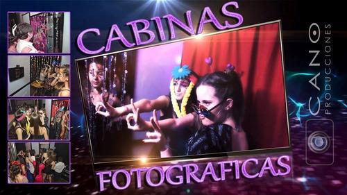 cabina fotográfica - fotos instantáneas mensajes de video hd