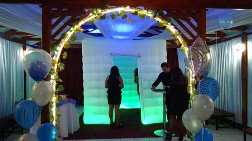 cabina fotografica luz led