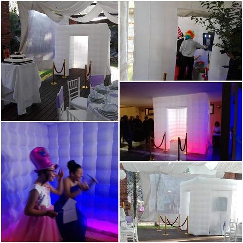 cabina fotografica, movil, inflable, cabina de fotos, renta