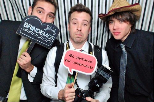 cabina fotos- selfie - box alquiler - precio x 2hs ilimitado