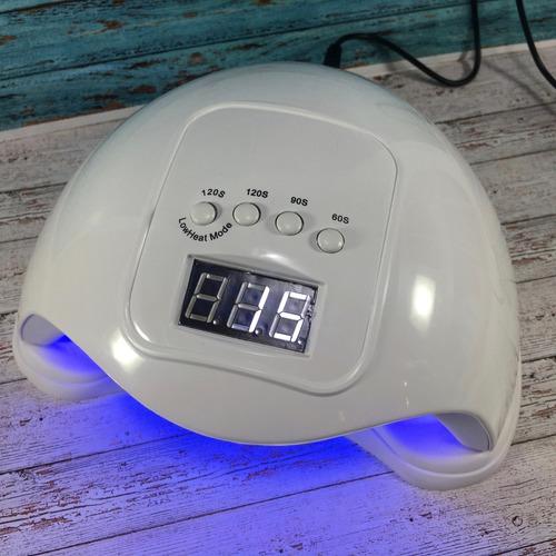 cabina lampara uñas uv led 48w semipermanentes y gelificadas