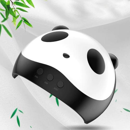 cabina led uv secado uñas manos sensor semi nail 36w panda