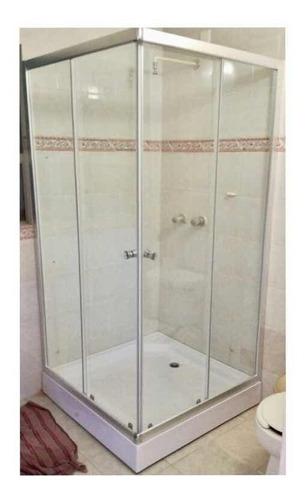 cabina para baño en cristal templado envío gratis df