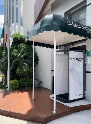 cabina para sanitización