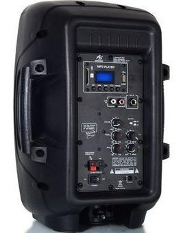cabina portable bluetooth american sound 8 pulgadas