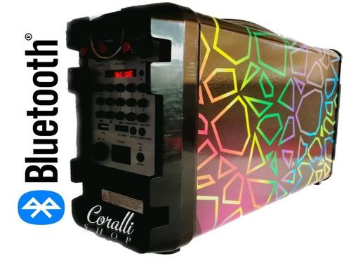 cabina portátil bluetooth karaoke,usb, fm, sd + envio gratis