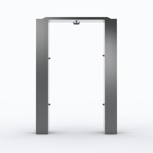 cabina puerta sanitizante desinfeccion automatica