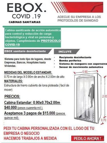 cabina sanitarias