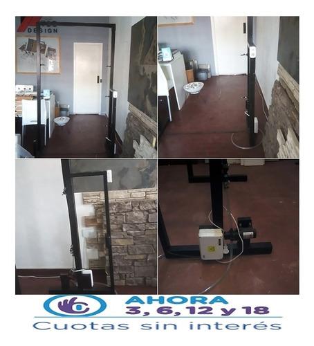 cabina sanitizante automatizada