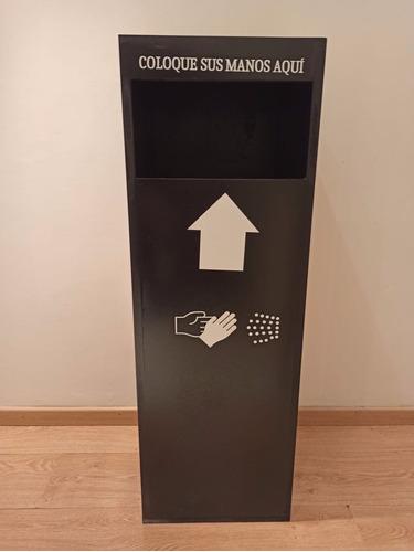 cabina sanitizante de manos automático
