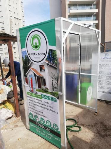 cabina sanitizante tunel sanitizador