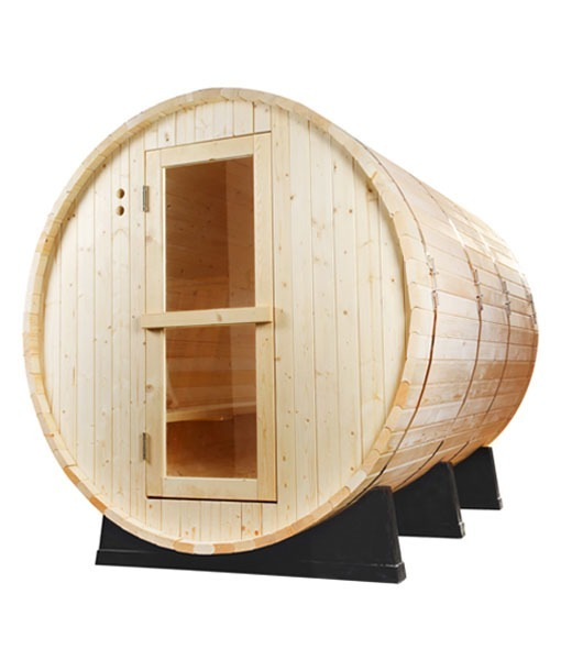 Cabina Sauna Barril Madera Pino 45m3 Piscineria 1999990 En - Cabina-sauna