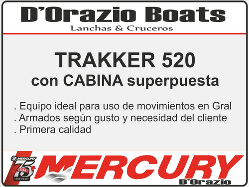 cabina tracker trakker cabinados dorazio 0 hs a medida 2019