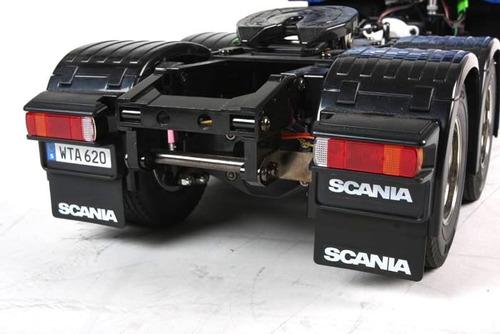 cabina tractocamion scania r620 6x4 highline escala 1/14 rc