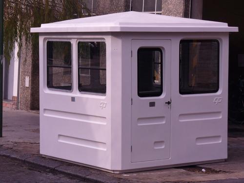 cabina vigilancia, garita seguridad, caseta, oficina móvil