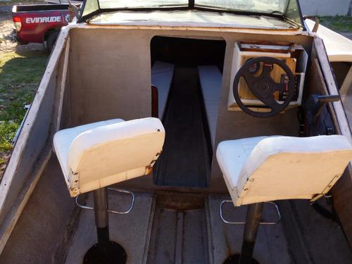 cabinado 590 (1979) con evinrude 115 (1996)