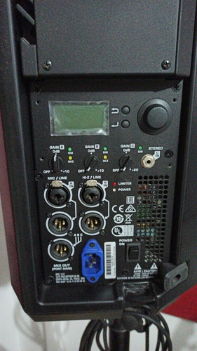 cabinas activas qsc k12.2 en excelente estado. como nuevas!!