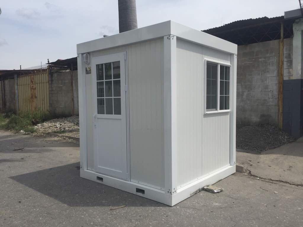 Cabinas caseta trailer contenedor de obra oficina modular bs 908 00 en mercado libre - Oficina de obra ...