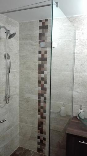 cabinas de baño en vidrio templado