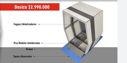 cabinas de descontaminación