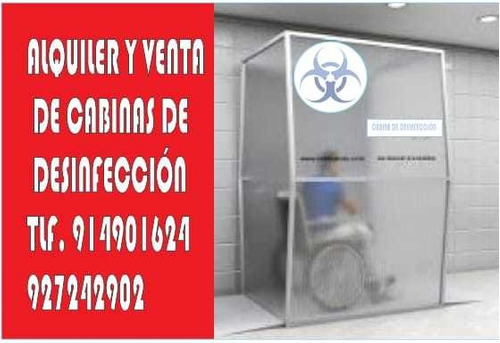 cabinas de desinfeccion