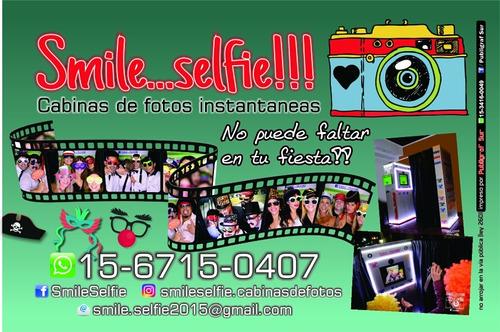 cabinas de fotos instantáneas smileselfie cabina fotografica
