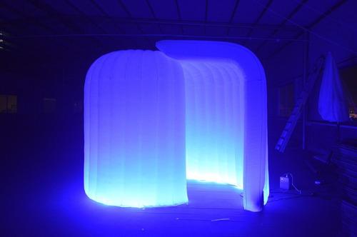 cabinas fotográficas inflables led - venta y arriendo