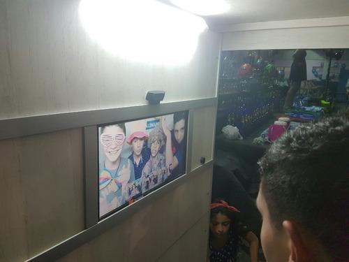 cabinas fotograficas y robots de led