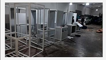 cabinas profesionales de desinfección