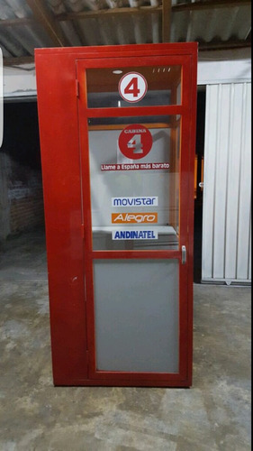 cabinas telefónicas metalicas