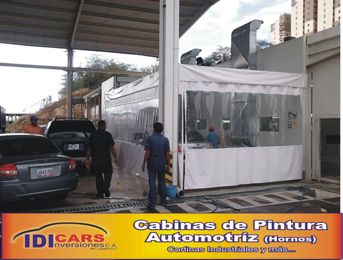 cabinas tipo horno de pintura para vehiculos