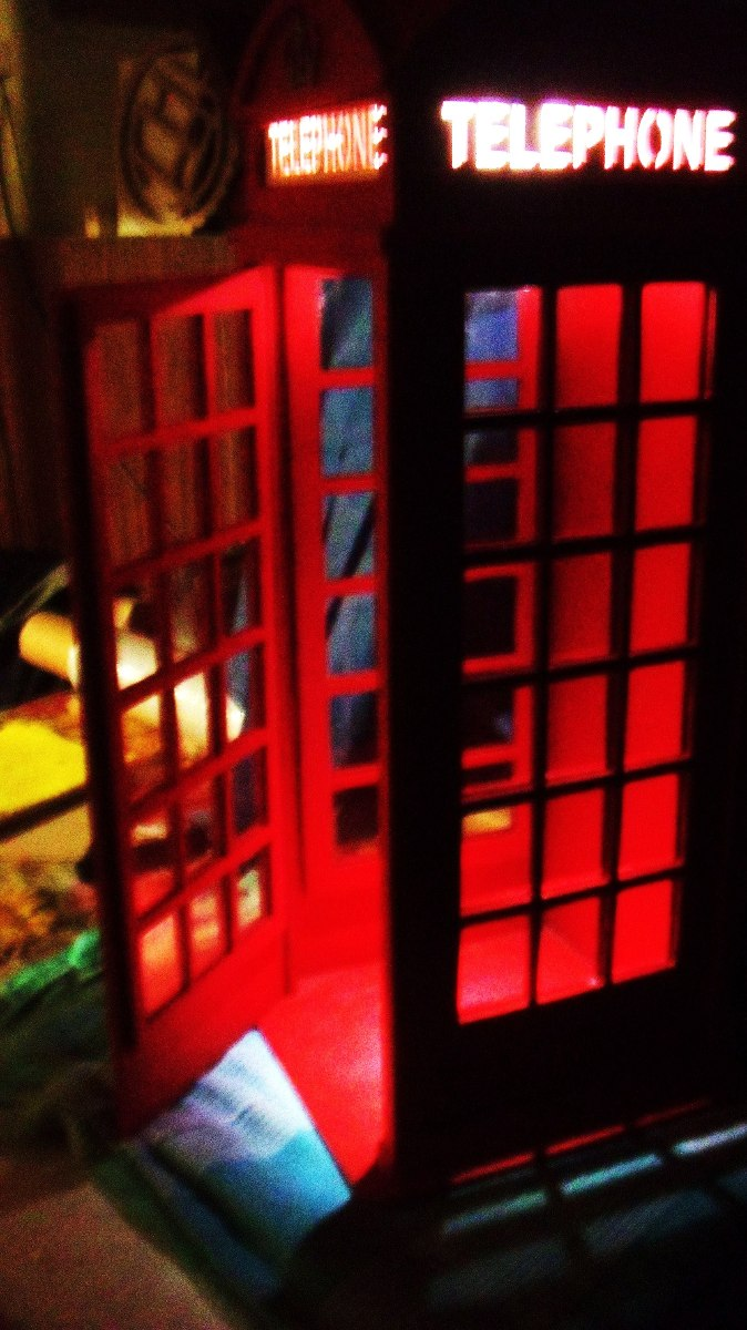 Cabinatelefónica Inglesa Fachada Sin Pintar 1,82 X 0,60 - $ 3.590,00 ...