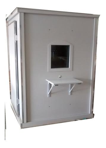 cabine audiometria mdf laminado 90x90x1,60